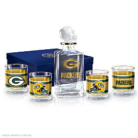 Green Bay Packers Decanter Set