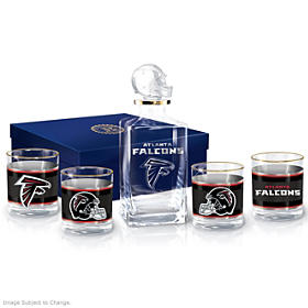 Atlanta Falcons Decanter Set