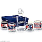 New York Giants Decanter Set