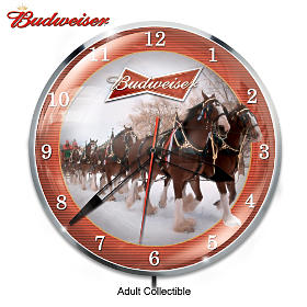 Budweiser Wall Clock