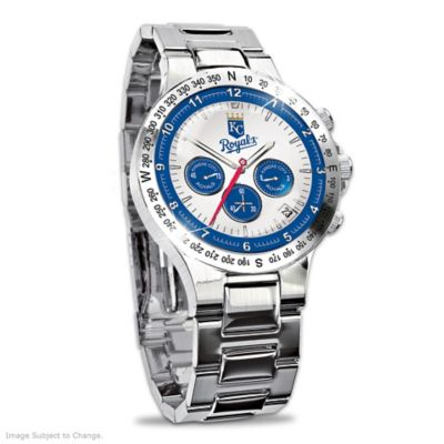 Kansas City Royals Commemorative Chronograph Watch by