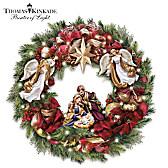 Thomas Kinkade Season's Blessings Wreath