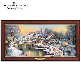 Thomas Kinkade Home For The Holidays Wall Decor
