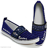 Steppin' Out With Pride Ravens Women's Shoes