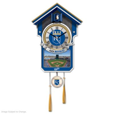 Kansas City Royals Tribute Wall Clock by