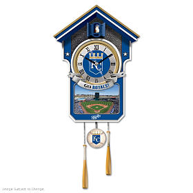Kansas City Royals Cuckoo Clock