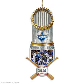 Kansas City Royals 2015 World Series Championship Ornament