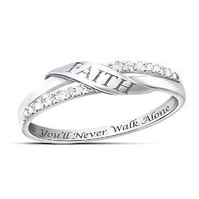 The Faith Diamond Ring