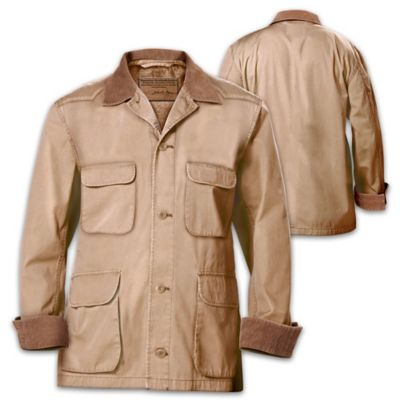Signature John Wayne Western-Style Stockade Men's Jacket by