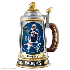 Tom Brady Collector's Tribute Stein