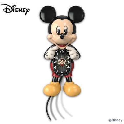 Mickey Mouse Motion Clock With Moving Eyes And Tail by