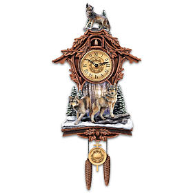 Silent Encounter Cuckoo Clock
