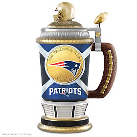 New England Patriots Collector's Stein