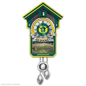 University Of Oregon Cuckoo Clock