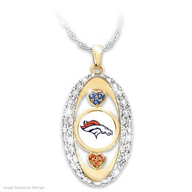 For The Love Of The Game Denver Broncos Pendant