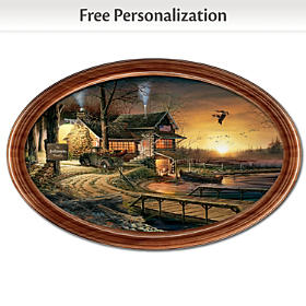 Sunrise Retreat Personalized Collector Plate