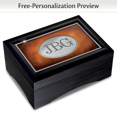 Grandson, Forge Your Own Path Personalized Keepsake Box by
