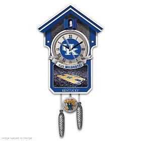 Kentucky Wildcats Cuckoo Clock