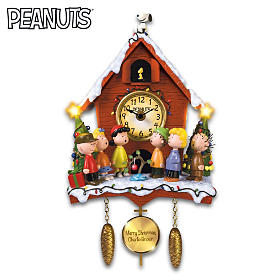 A Charlie Brown Christmas Cuckoo Clock