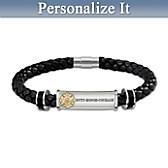 Firefighter's Brotherhood Of Honor Personalized Bracelet