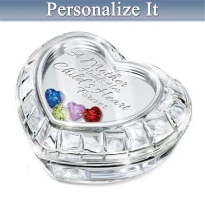 A Mother Holds Her Child's Heart Personalized Music Box by