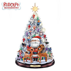 Rudolph's Holly Jolly Christmas Tree