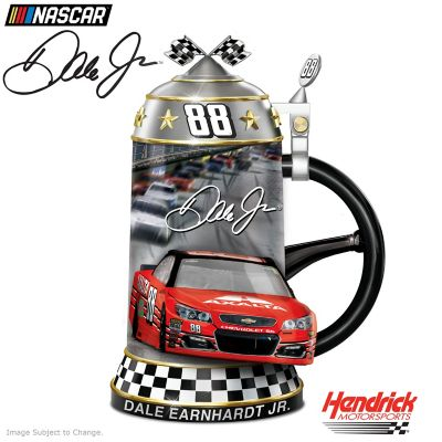 Dale Earnhardt Jr. NASCAR Porcelain Commemorative Stein by