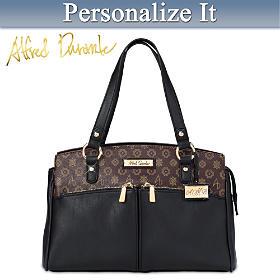 Alfred Durante Metropolitan Personalized Handbag