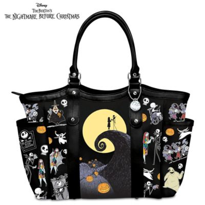 Disney Tim Burton's The Nightmare Before Christmas Tote Bag by