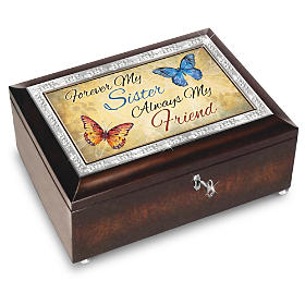 Forever My Sister, Always My Friend Music Box