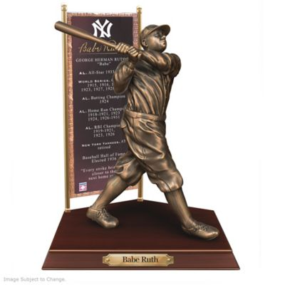 BABE RUTH New York Yankees Cold-Cast Bronze Sculpture by