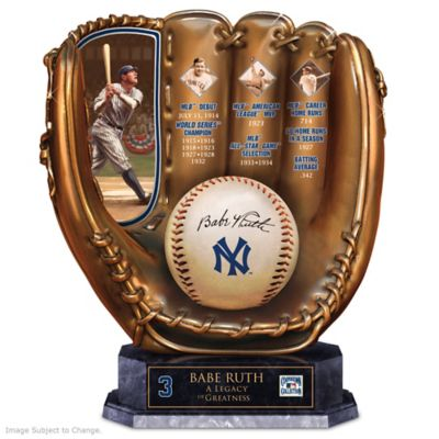 Babe Ruth Commemorative Cold-Cast Bronze Glove by