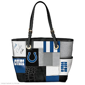 For The Love Of The Game Indianapolis Colts Tote Bag