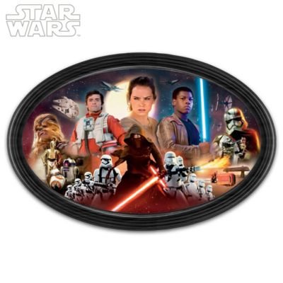 STAR WARS: The Force Awakens Framed Collectible Edition by