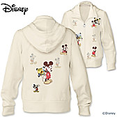 Disney Retro Mickey Mouse Women's Hoodie