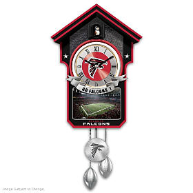 Atlanta Falcons Cuckoo Clock