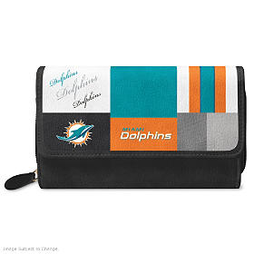 For The Love Of The Game Miami Dolphins Wallet