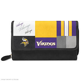 For The Love Of The Game Minnesota Vikings Wallet