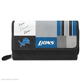 For The Love Of The Game Detroit Lions Wallet