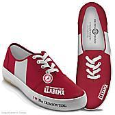 I Love The Alabama Crimson Tide Women's Shoes