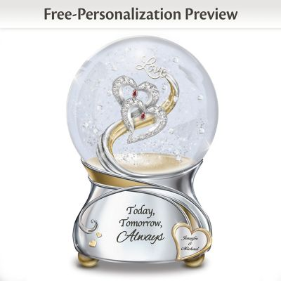 Personalized Collectible Snow Globes Bradford Exchange