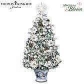 Thomas Kinkade Winter Splendor Tabletop Tree