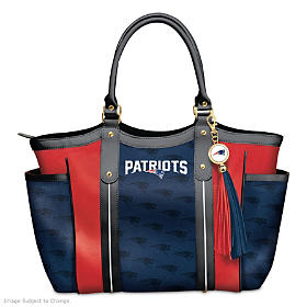 Touchdown Patriots! Tote Bag