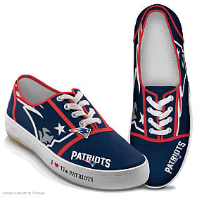 I Love The Patriots Women's Shoes