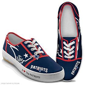 I Love The Patriots Women's Shoes