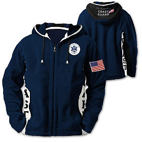 Coast Guard Pride Men's Jacket