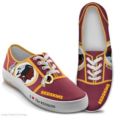 3e273def NFL-Licensed Washington Redskins Women's Canvas Sneakers