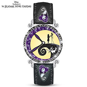Nightmare Before Christmas Midnight Magic Women's Watch