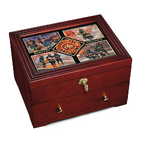 Bravery Defined Keepsake Box