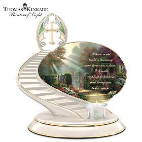 Thomas Kinkade Loving Remembrance Candle Holder